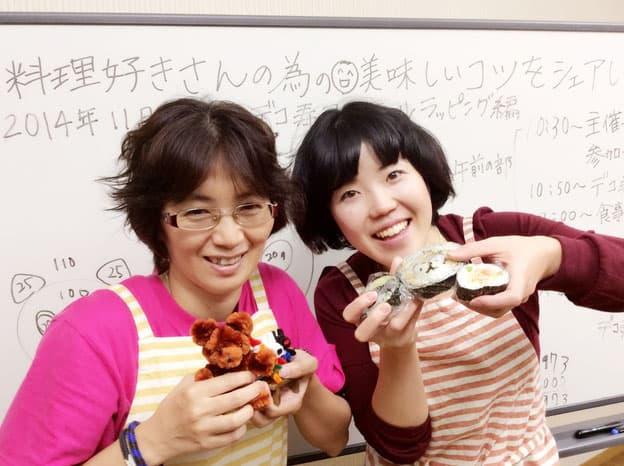 大阪・家庭生活向上セミナーの開催*デコ寿司を作れるようになろう会(平日)