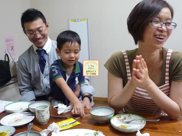 大阪・家庭生活向上セミナーの開催*美味しいレパートリーを増やそう会