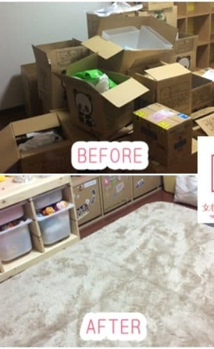 大阪府和泉市で整理収納/片付け/整理整頓の家政婦・家事代行サービスの13回目ご利用報告